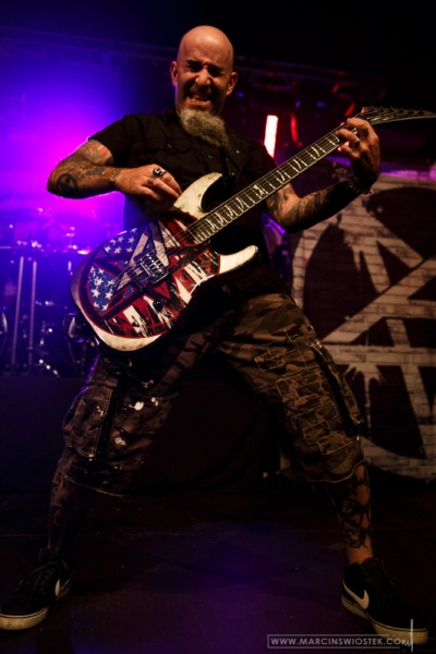 Old: Scott Ian, Anthrax, 2nd June 2014