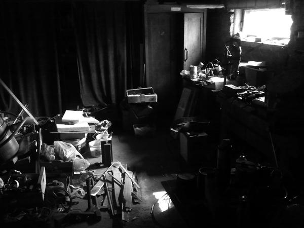 My grandfather\'s basement, Starachowice, October 2012