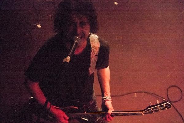 Napalm Death's Mitch Harris, Kraków, November 22th 2013