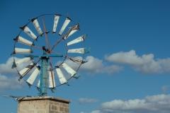 Windmill near Es Pil·larí