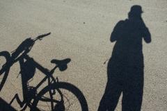 Near midday shadow