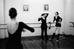 Ballet class, Girona, February 2008