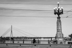 Old: Riga, Latvia, 29th April 2014